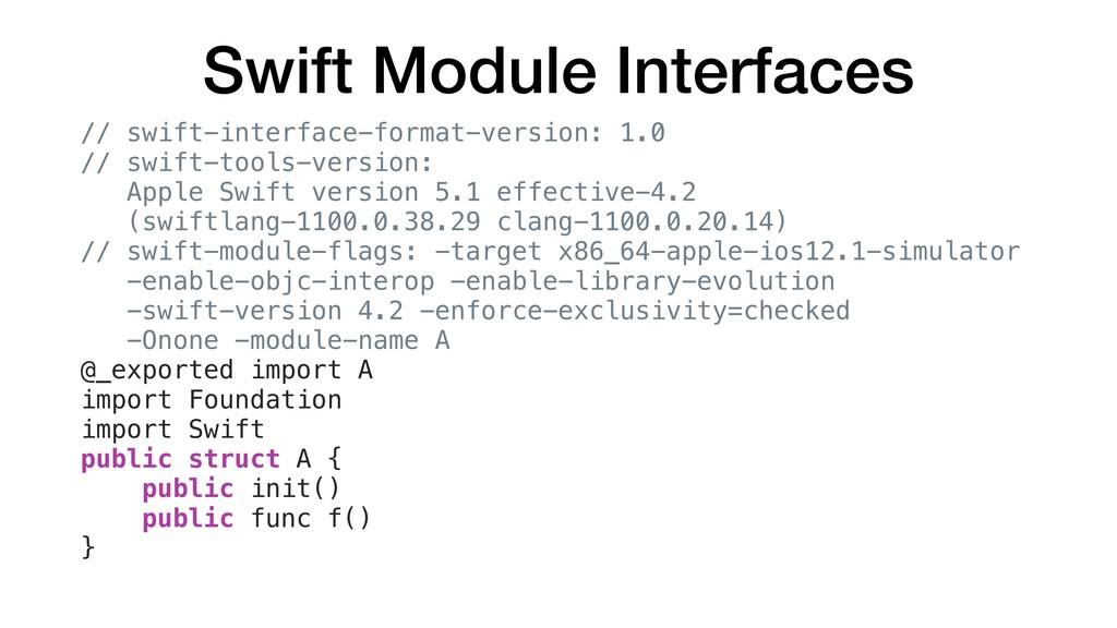Swift Module Interfaces // swift-interface-form...