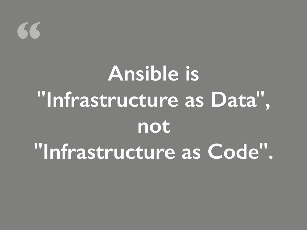 Ansible is