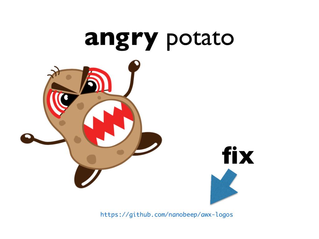 angry potato https://github.com/nanobeep/awx-lo...