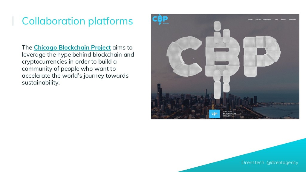 The Chicago Blockchain Project aims to leverage...