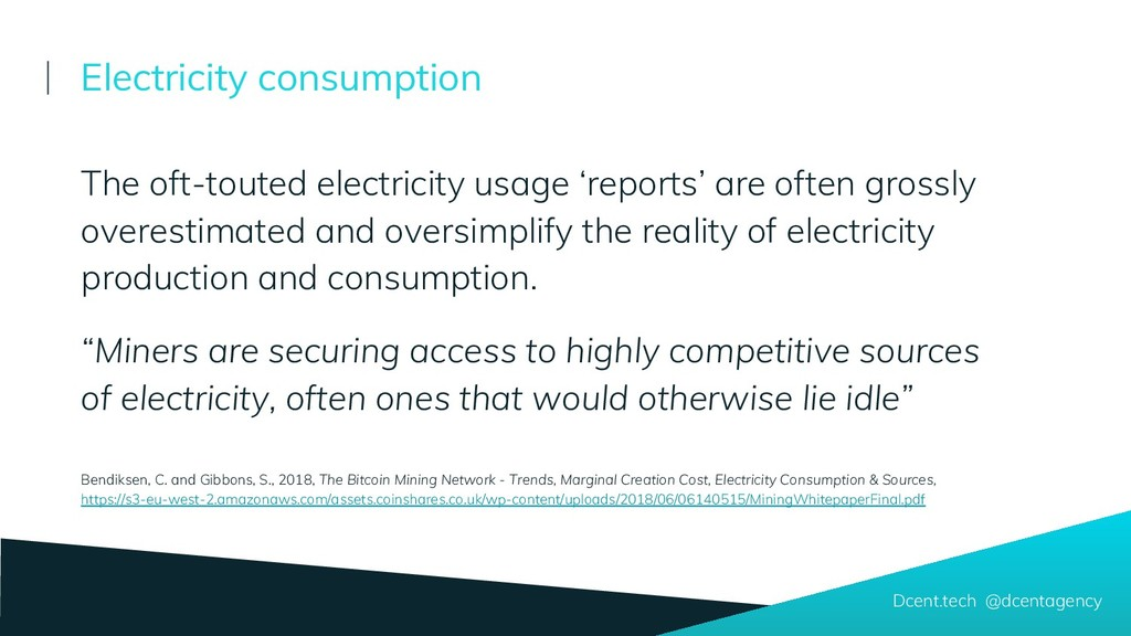 The oft-touted electricity usage 'reports' are ...