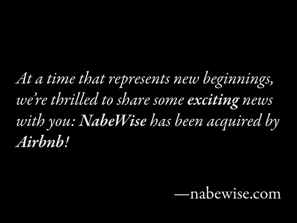 At a time that represents new beginnings, we're...