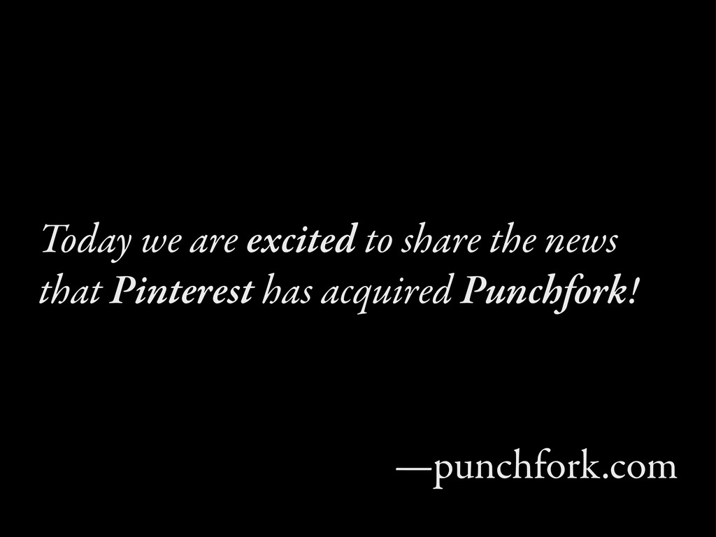 Today we are excited to share the news that Pin...
