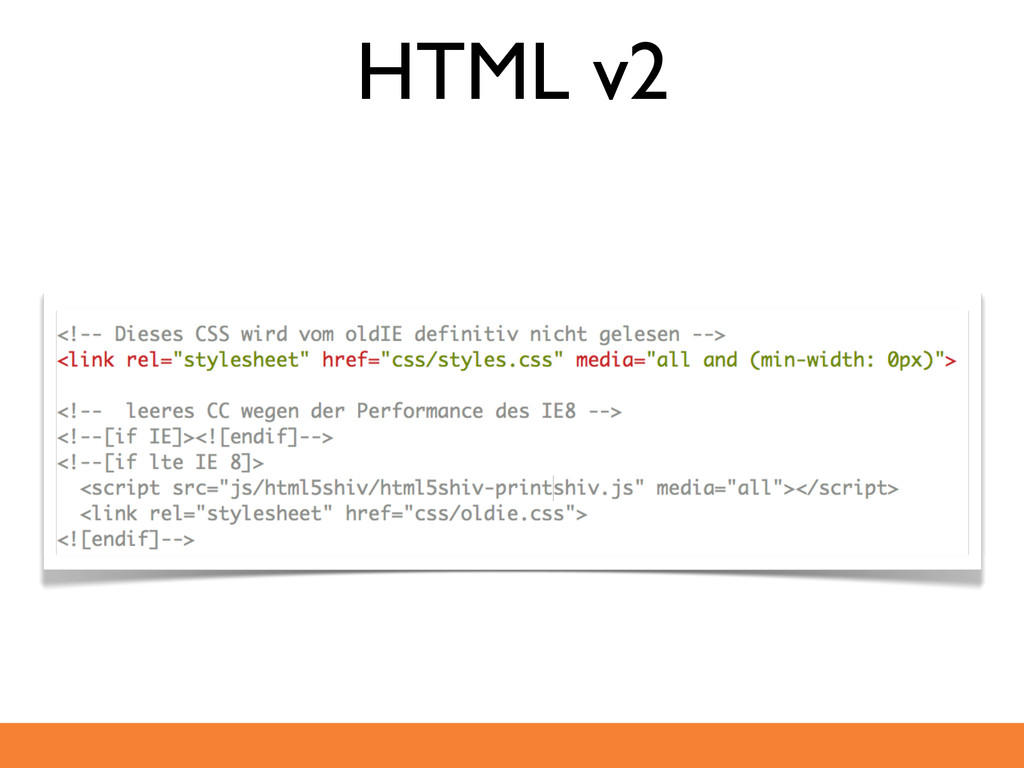 HTML v2