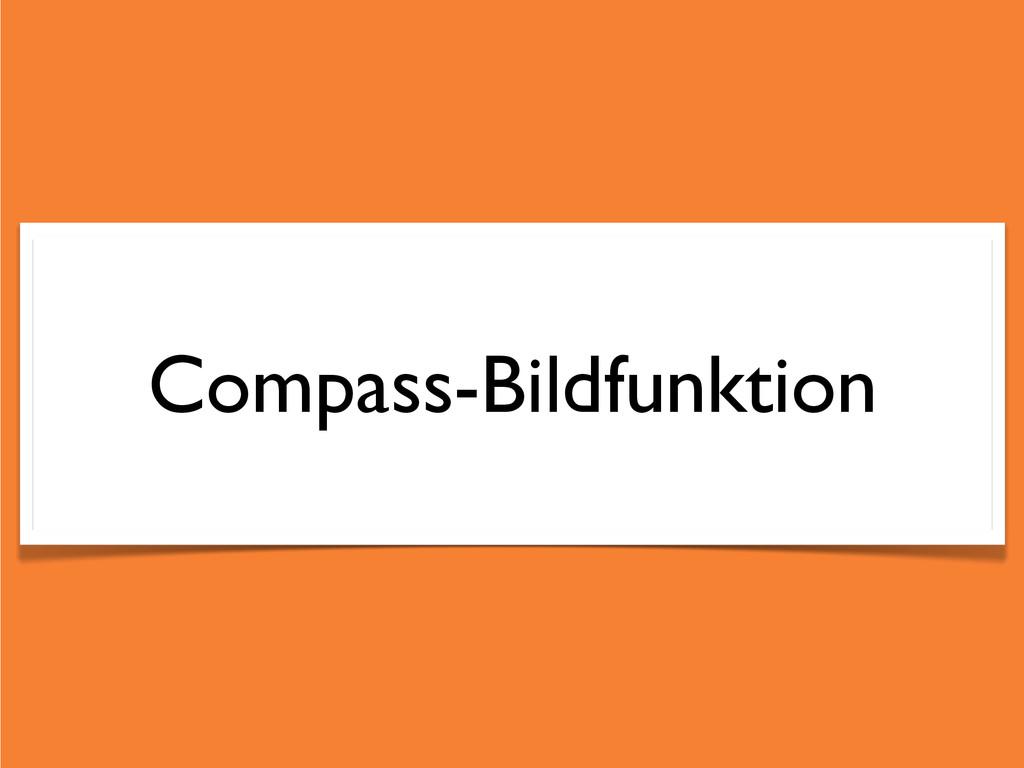 Compass-Bildfunktion