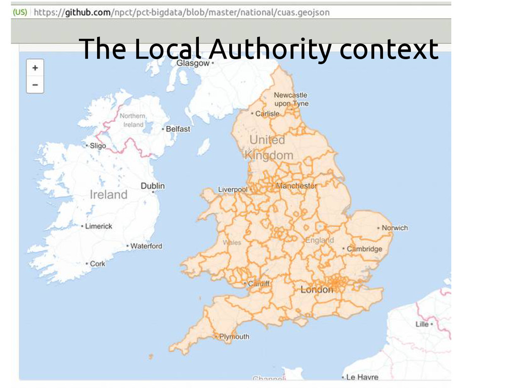 The Local Authority context