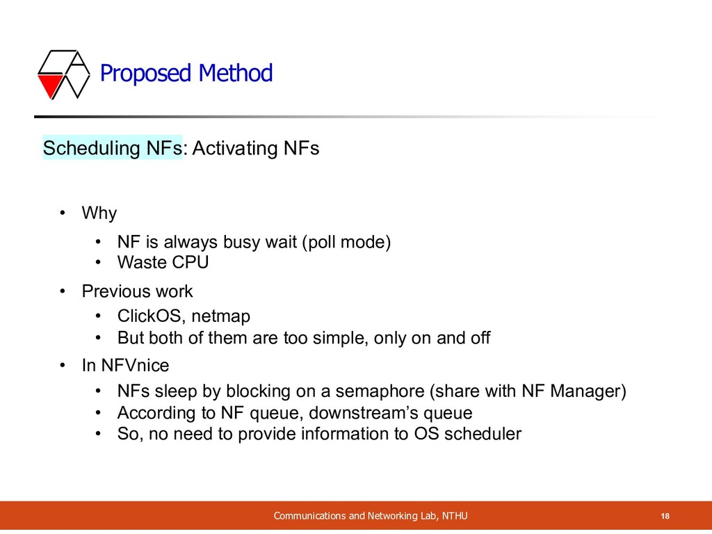 Proposed Method Communications and Networking L...
