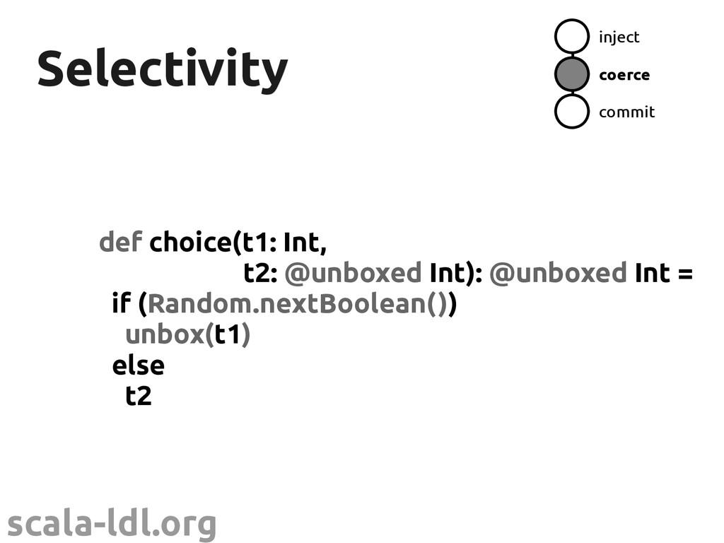 scala-ldl.org Selectivity Selectivity def choic...