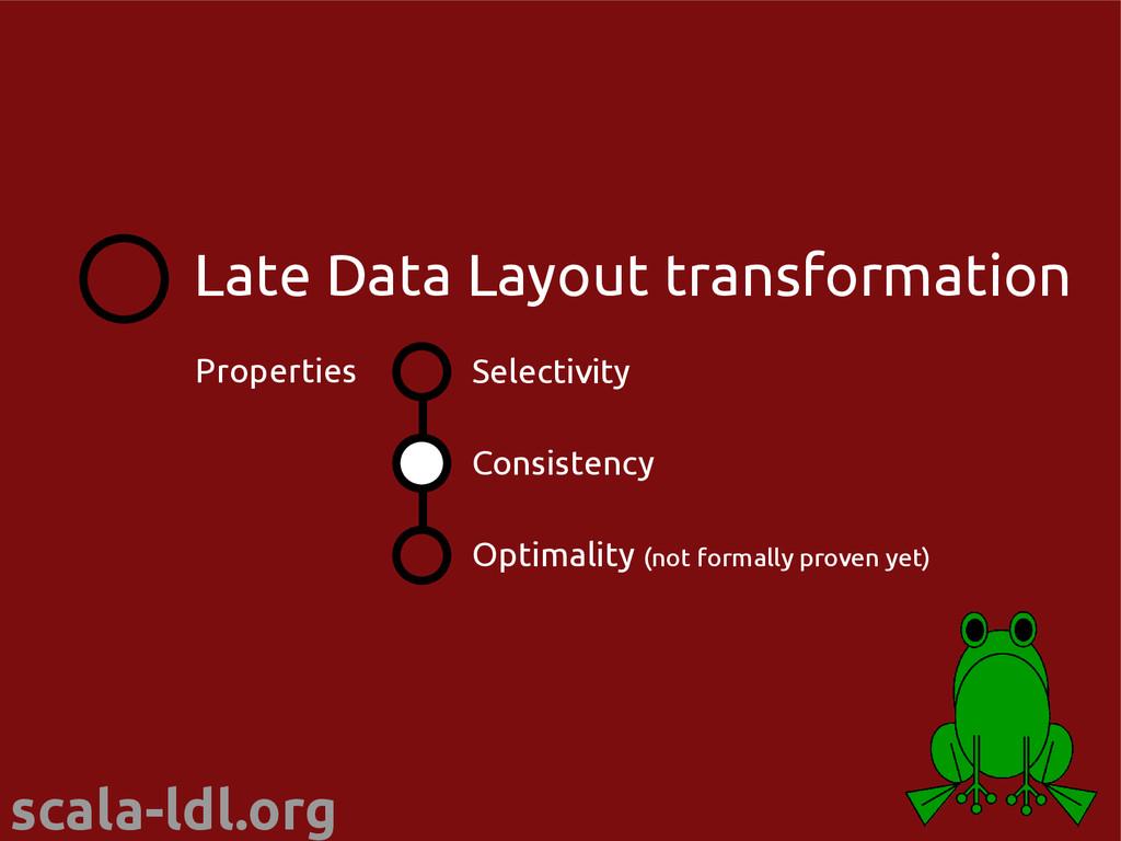 scala-ldl.org Selectivity Consistency Optimalit...