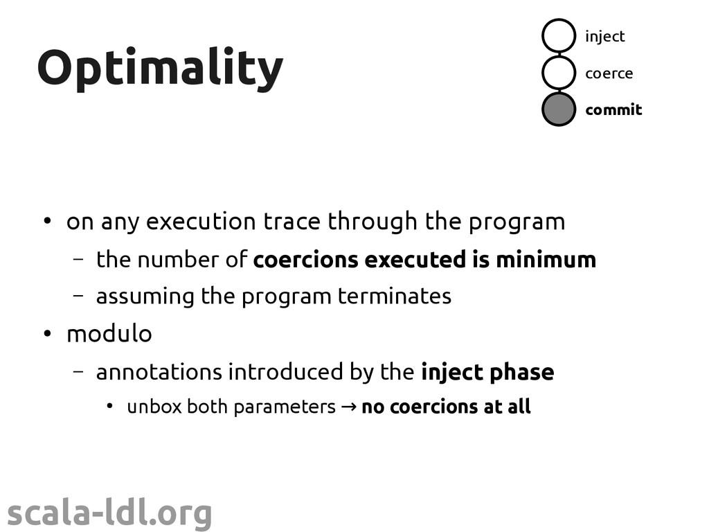 scala-ldl.org Optimality Optimality ● on any ex...