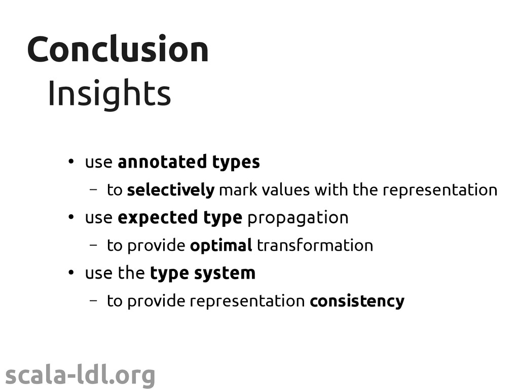 scala-ldl.org Conclusion Conclusion Insights In...