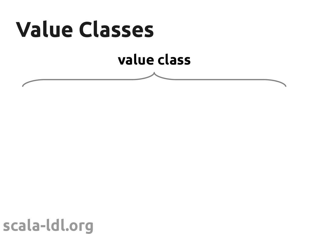 scala-ldl.org Value Classes Value Classes value...