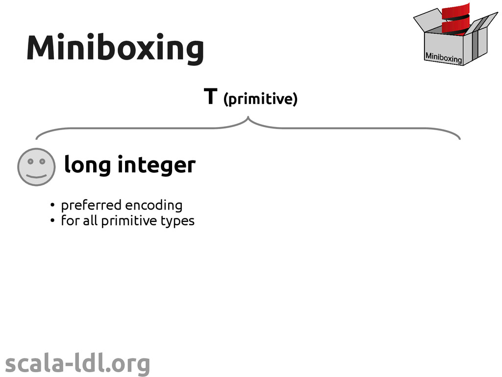 scala-ldl.org Miniboxing Miniboxing long intege...