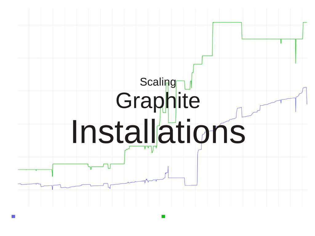 Scaling Graphite Installations