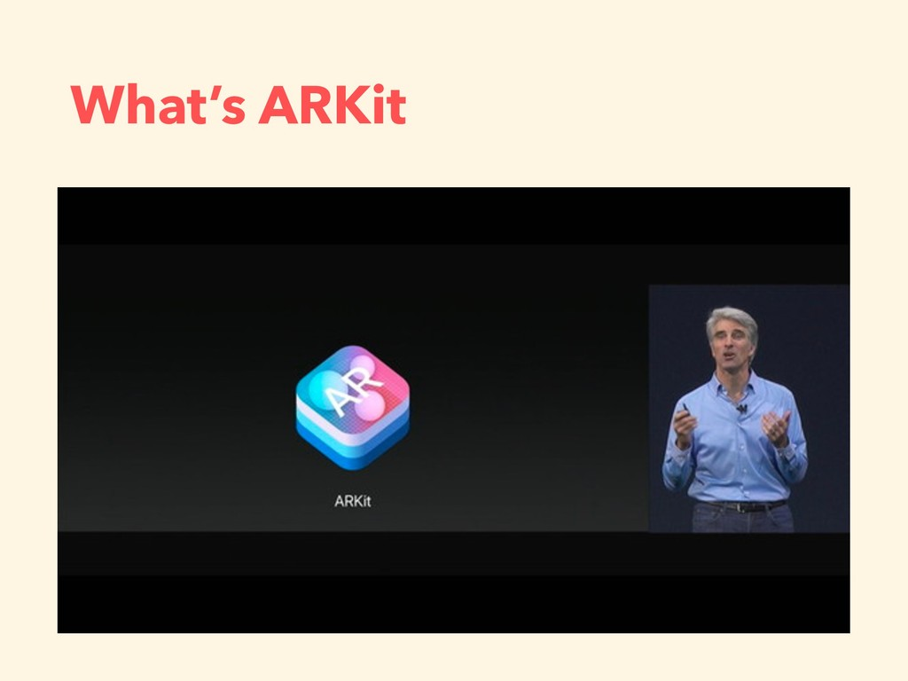 What's ARKit