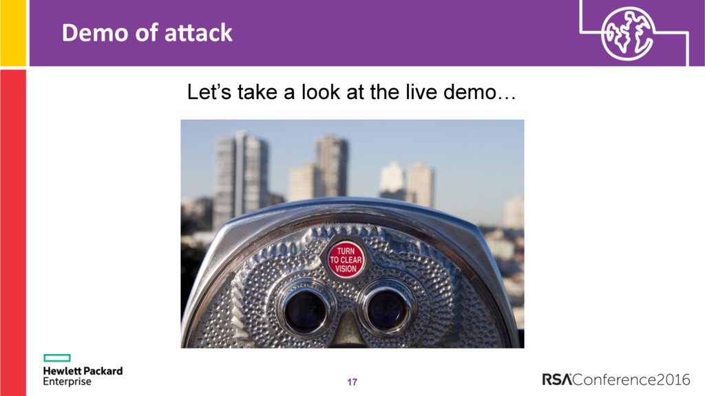 Demo of aMack 17 Let's take a look at the live ...