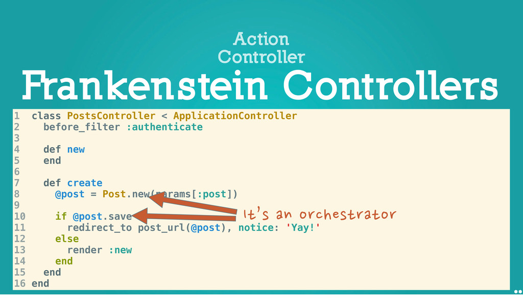 Frankenstein Controllers Action Controller 1 cl...