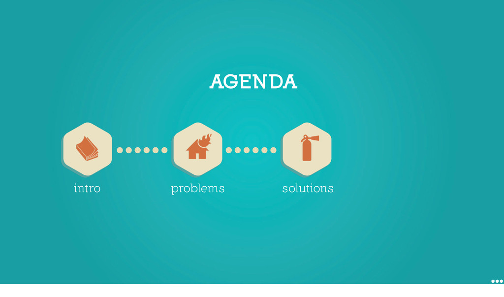 AGENDA intro problems solutions