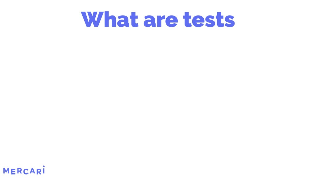 What are tests 10/45