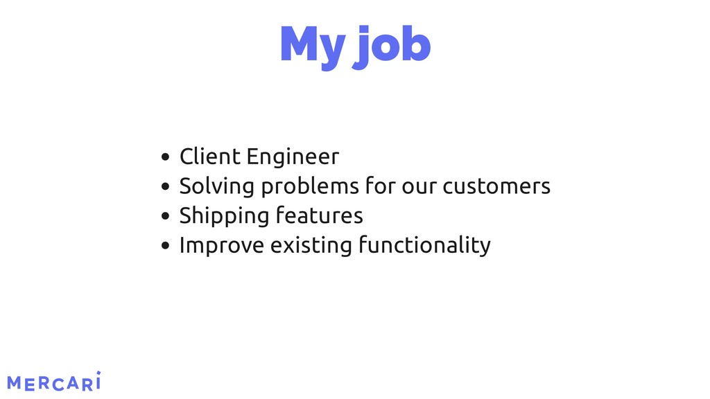 Client Engineer Solving problems for our custom...