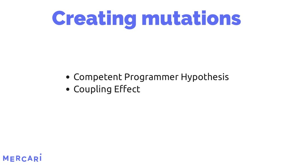 Competent Programmer Hypothesis Coupling Effect ...