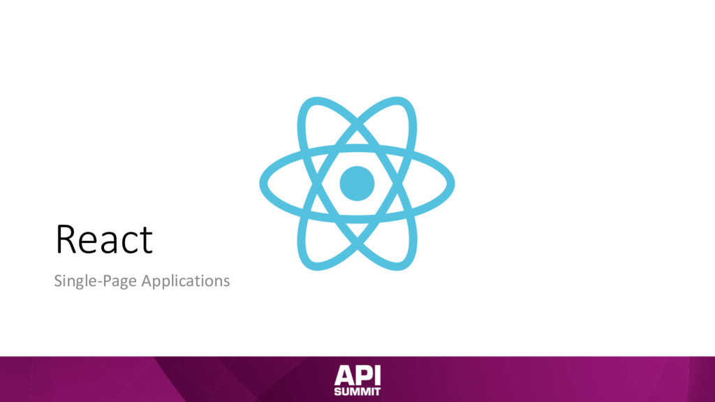 React Single-Page Applications