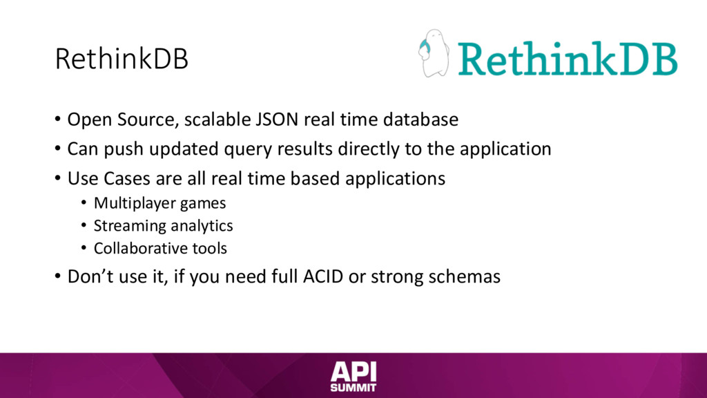 RethinkDB • Open Source, scalable JSON real tim...