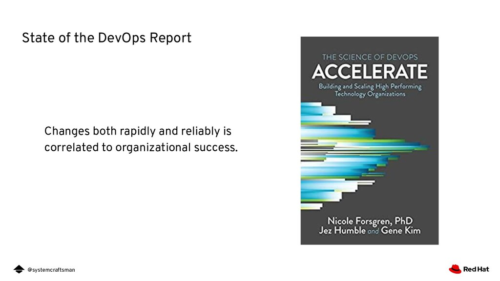@systemcraftsman State of the DevOps Report Cha...