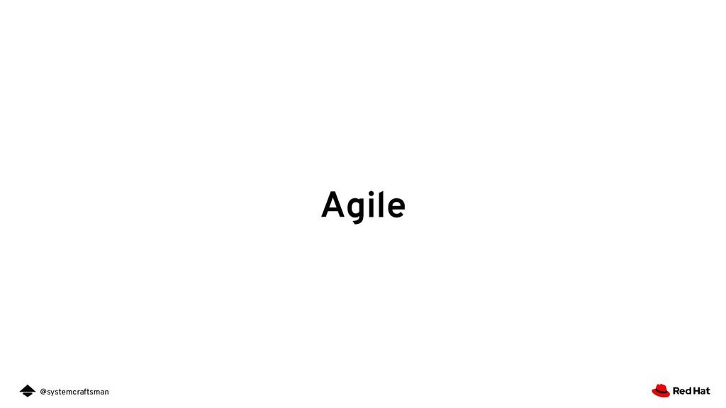@systemcraftsman Agile