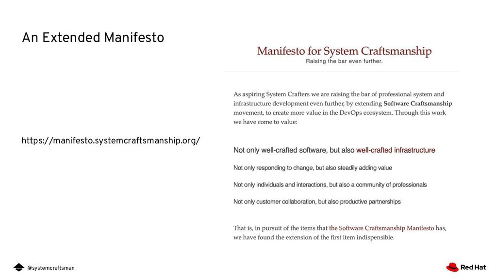 @systemcraftsman An Extended Manifesto https://...