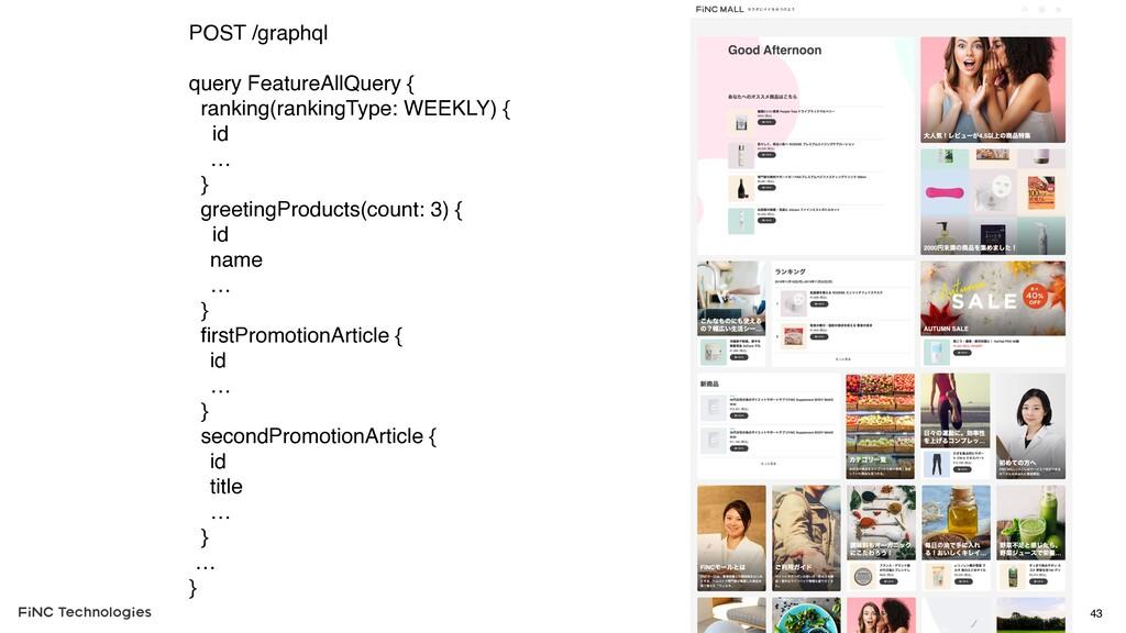 43 POST /graphql query FeatureAllQuery { rankin...