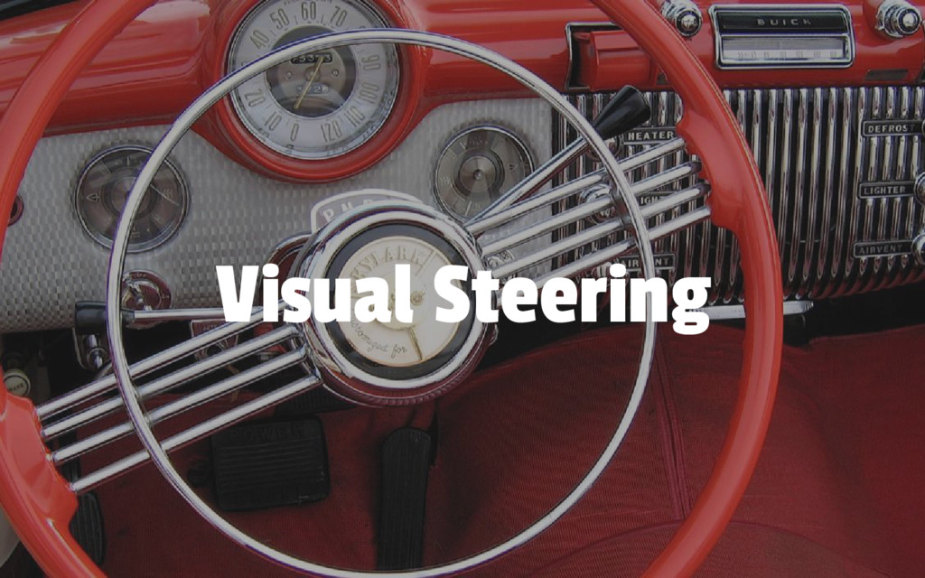 Visual Steering