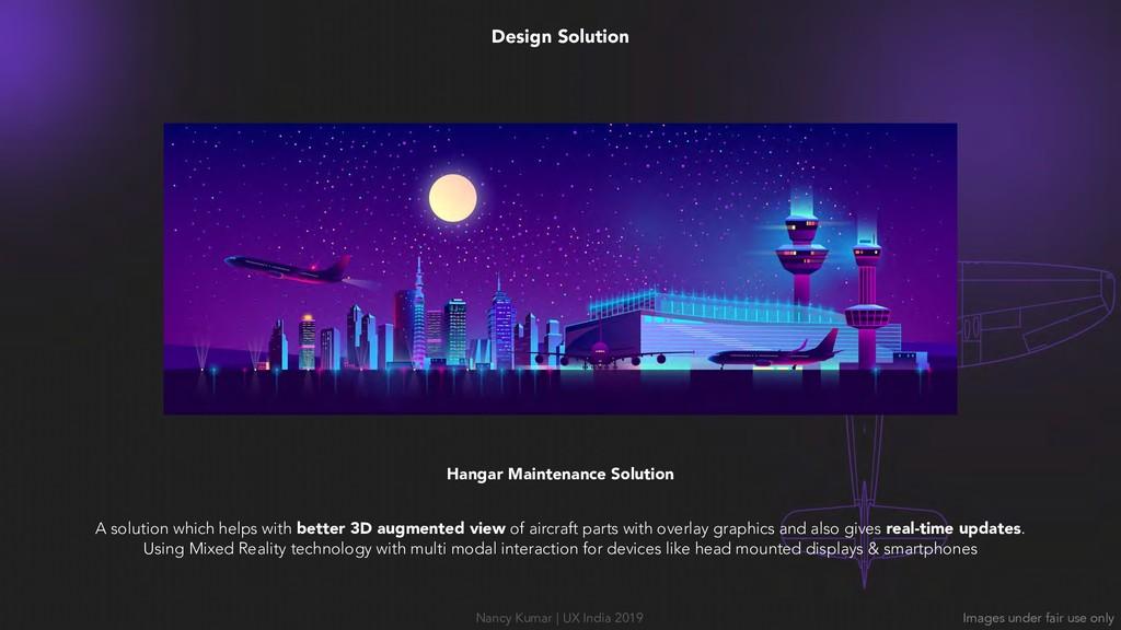 Design Solution Hangar Maintenance Solution A s...