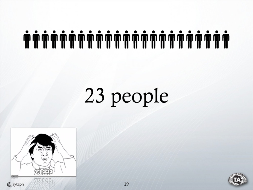 @jaytaph 23 people 29