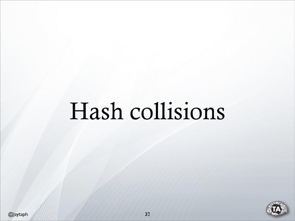 @jaytaph Hash collisions 32