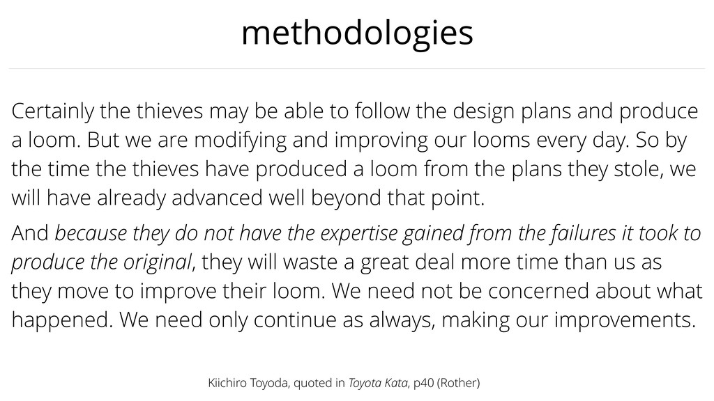 methodologies Certainly the thieves may be able...