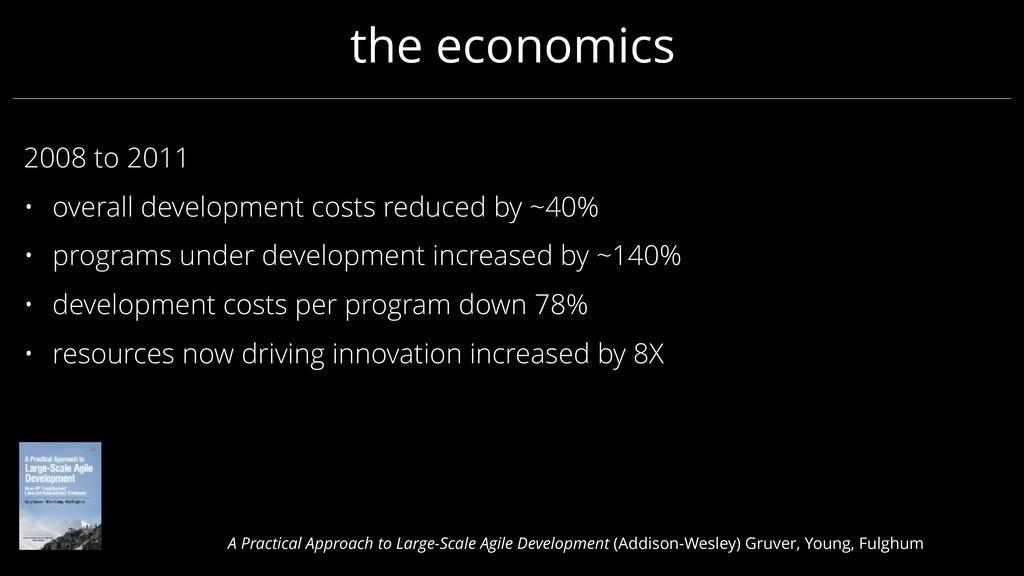the economics 2008 to 2011 • overall developmen...