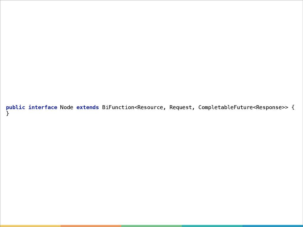 public interface Node extends BiFunction<Resour...