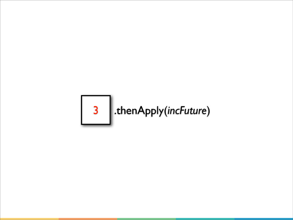 3 .thenApply(incFuture)