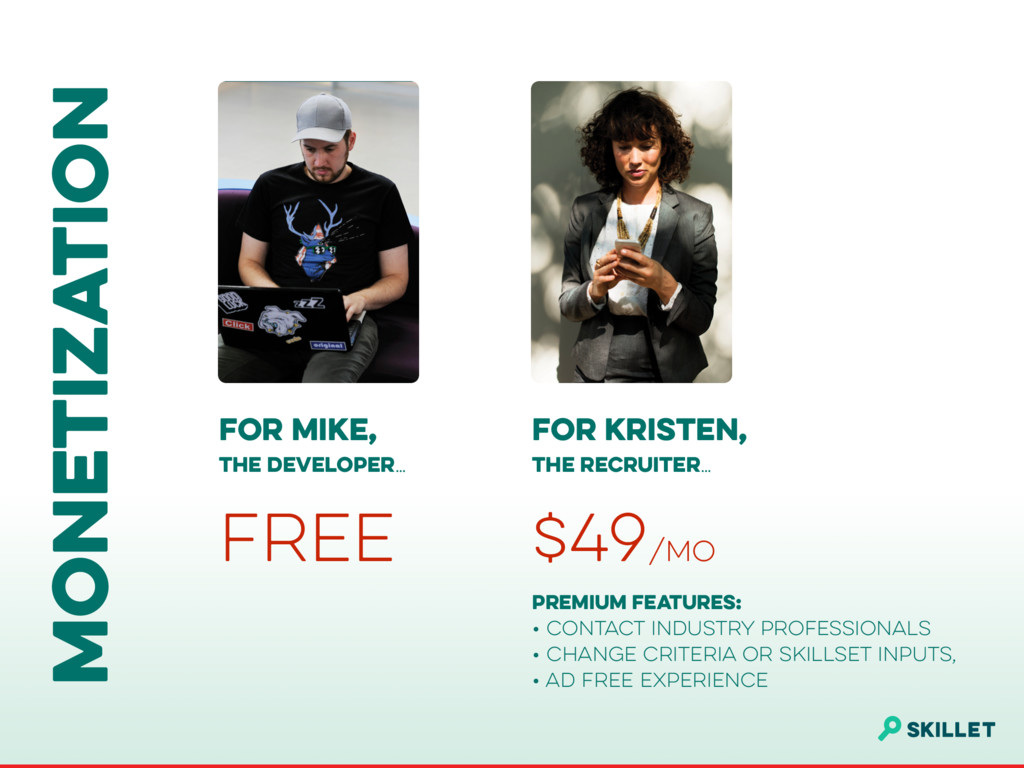 MONETIZATION FOR MIKE, 