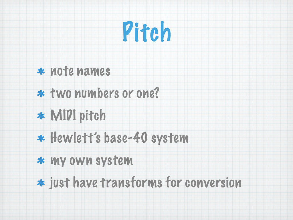 Pitch note names two numbers or one? MIDI pitch...