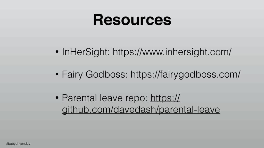 • InHerSight: https://www.inhersight.com/ • Fai...