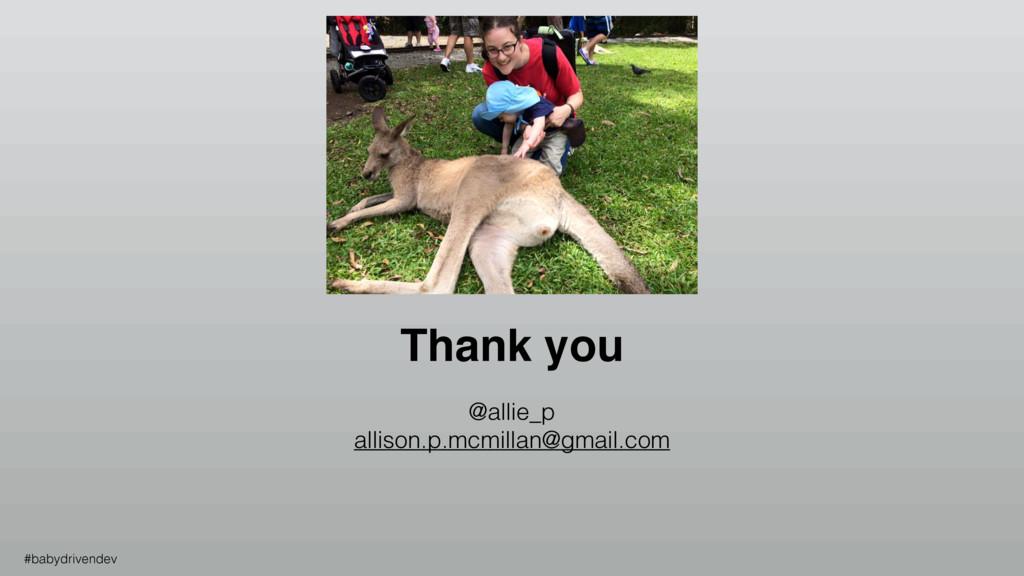 Thank you @allie_p allison.p.mcmillan@gmail.com...