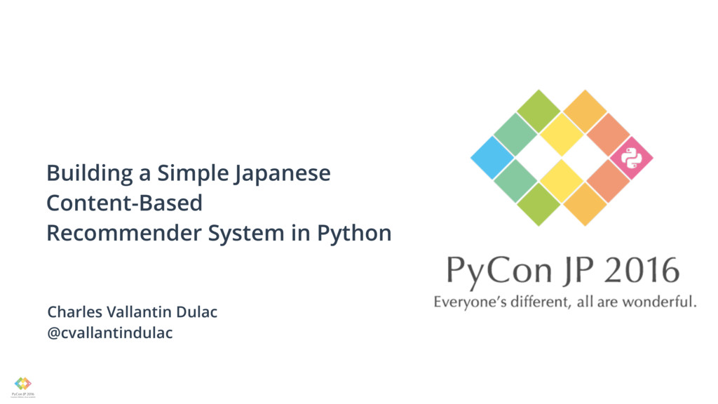 Building a Simple Japanese Content-Based Recomm...
