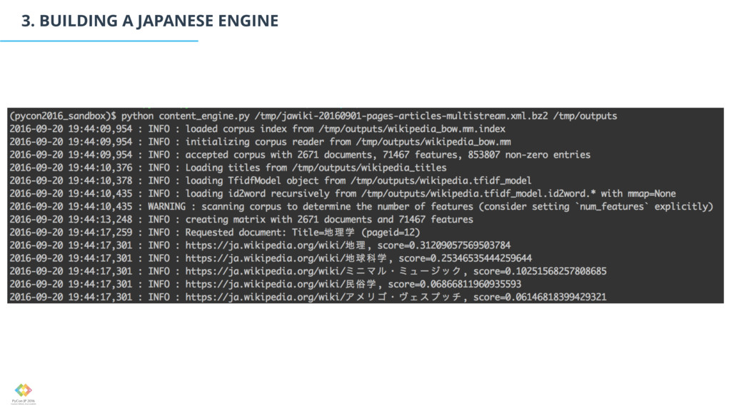3. BUILDING A JAPANESE ENGINE