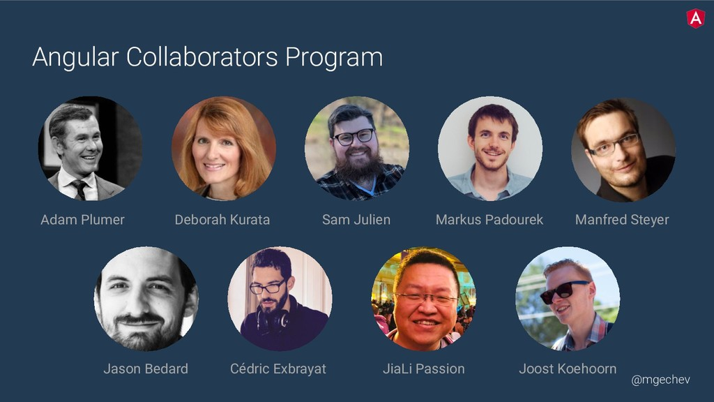 @mgechev Angular Collaborators Program Adam Plu...