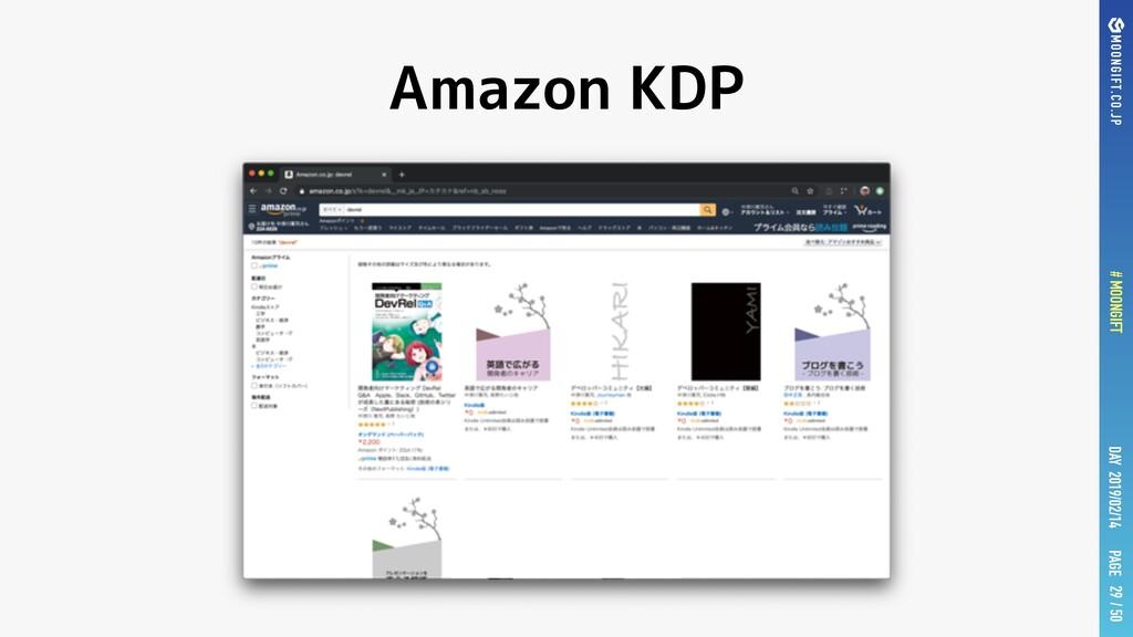 PAGE # MOONGIFT / 50 DAY 2019/02/14 Amazon KDP ...