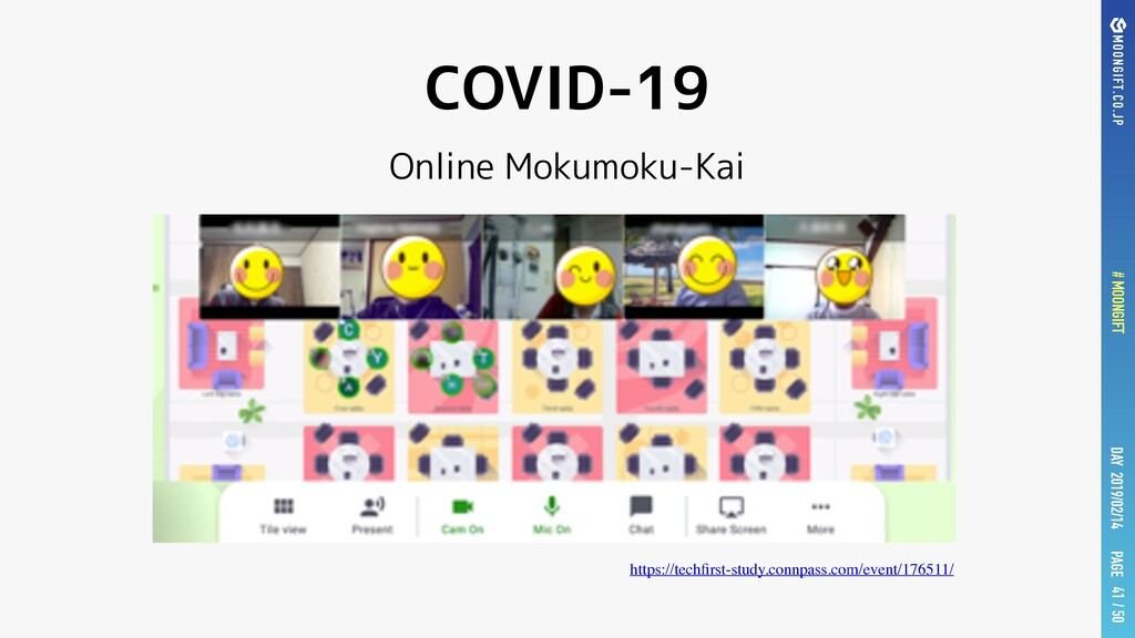 PAGE # MOONGIFT / 50 DAY 2019/02/14 COVID-19 On...