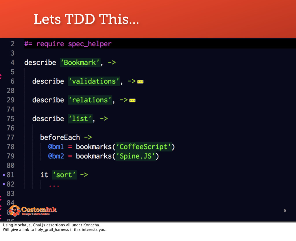 Lets TDD This... 8 Using Mocha.js, Chai.js asse...
