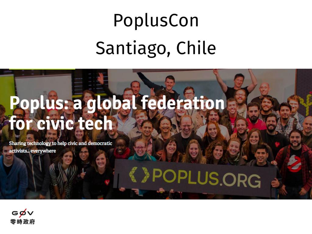 PoplusCon Santiago, Chile